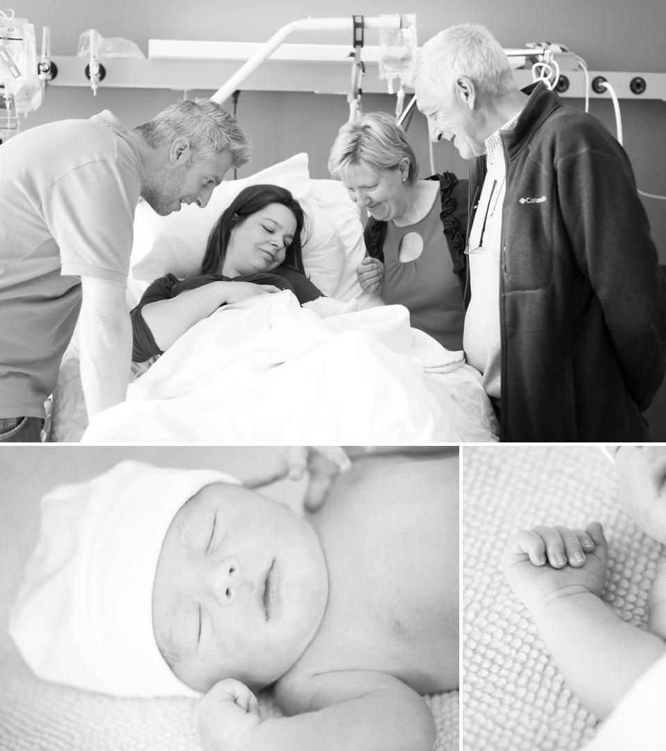 Bevallingsreportage België