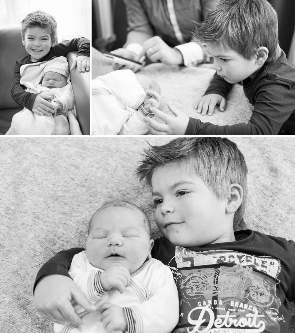 Fotoreportage geboorte