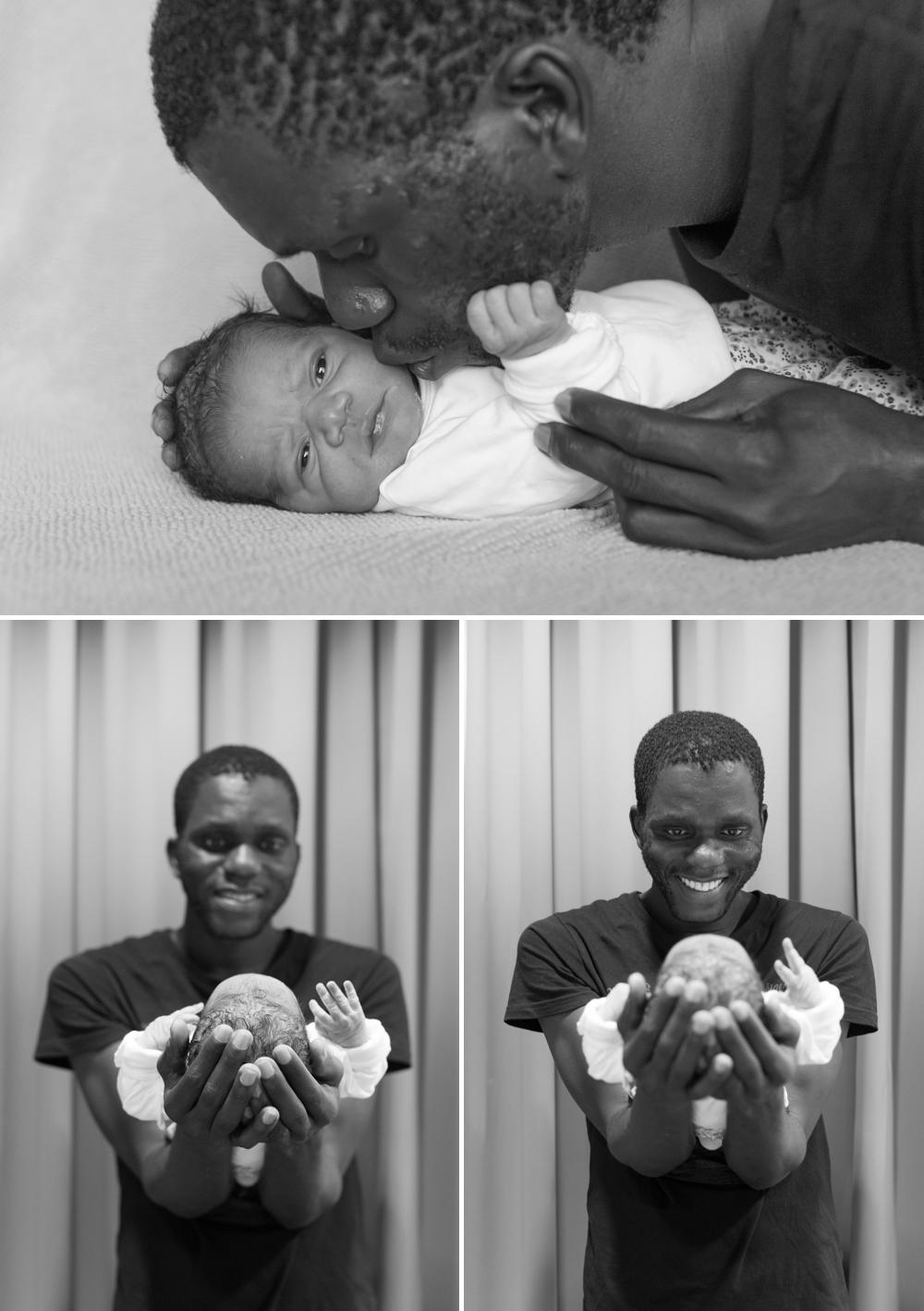 Foto's geboorte