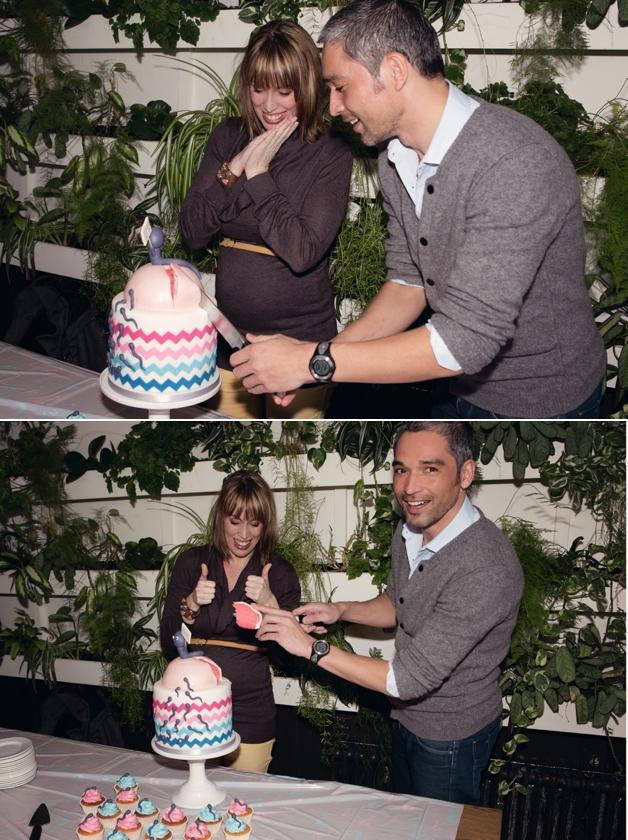 Jongen meisje taart