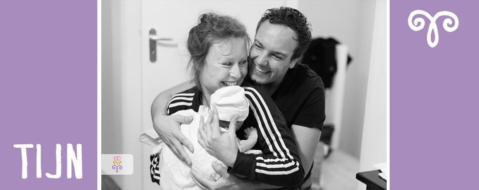 Thuisbevalling geboortefotografie