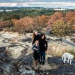 FAMILIEREPORTAGE OP VANCOUVER ISLAND