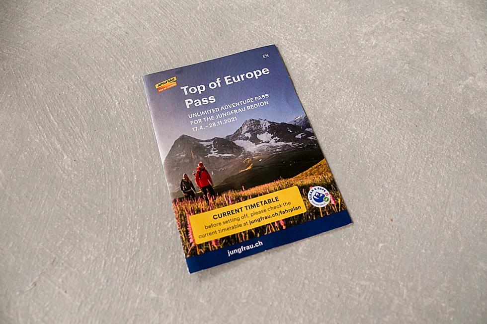 Top of Europe Pas