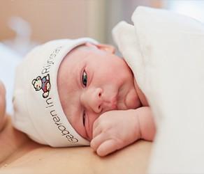 Een geplande keizersnede bij een collega geboortefotograaf