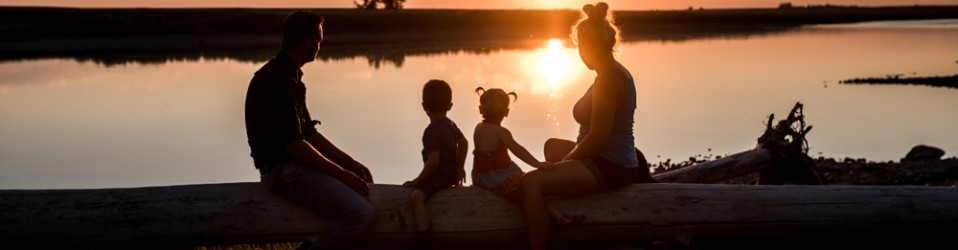 FAMILIEREPORTAGE IN ALBERTA CANADA