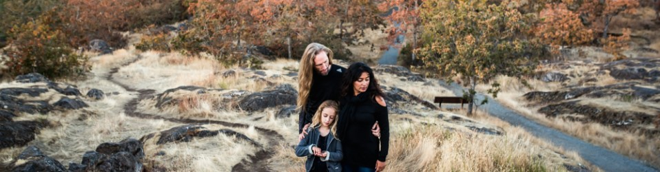 Familie photo session on Vancouver Island