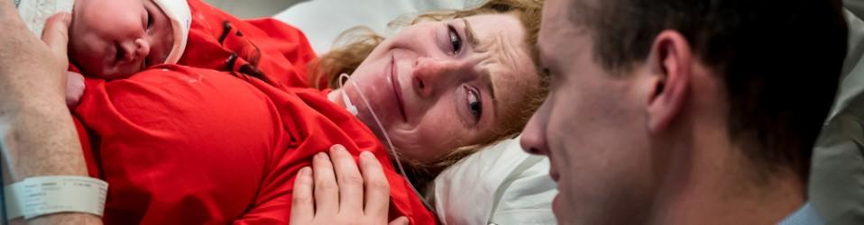 A calm, peaceful birth | Birth Photography Dirksland